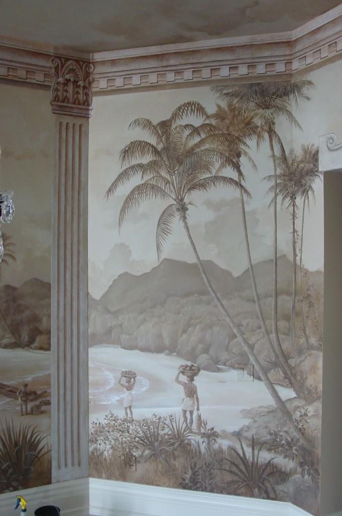 West Indies Mural